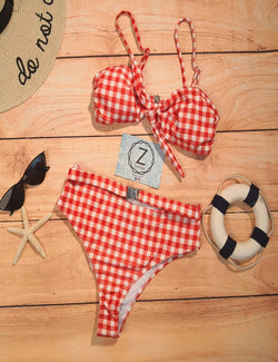 Zahara Swim Gingham / L Marilyn Collection | Gingham