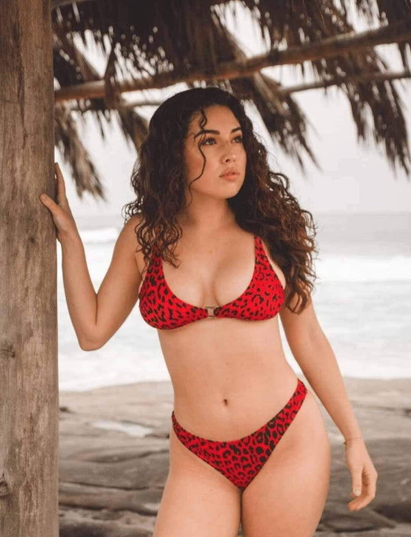 Zahara Swim Leopard / L Bentley Collection / Leopard
