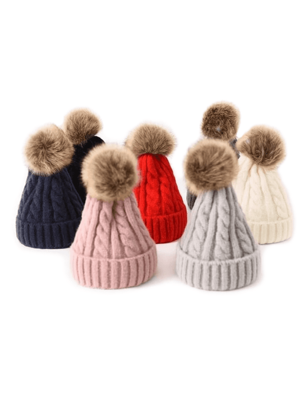 Zahara Swim Pixie Pom Pom Beanie | 6 Colors