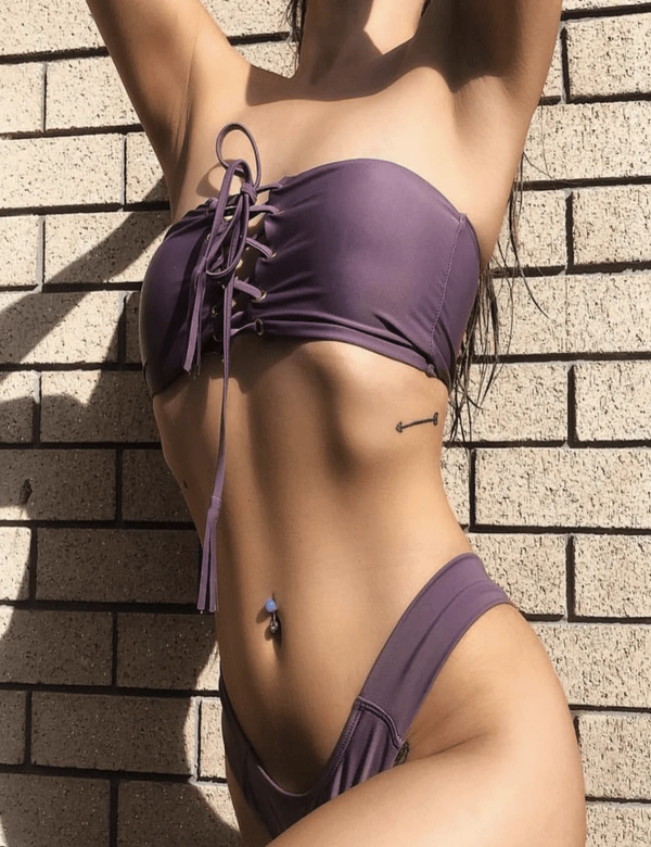 Zahara Swim Purple / L Ever So Sleek / Purple - SOLD OUT