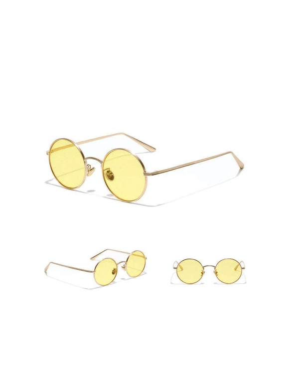 Zahara Swim Retro Show Shades | Lemon