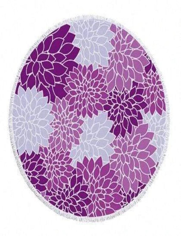 Zahara Swim The Floral Collection - Purple Love