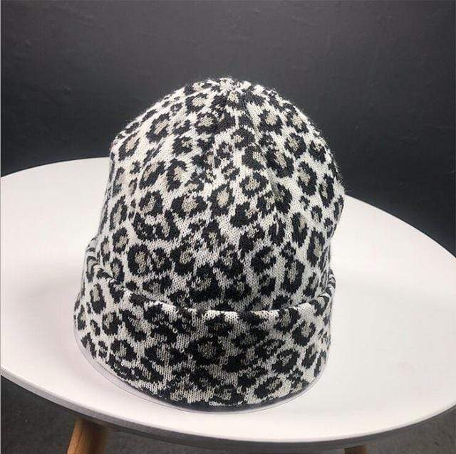 Zahara Swim White Lexi Leopard Beanie | 4 Colors
