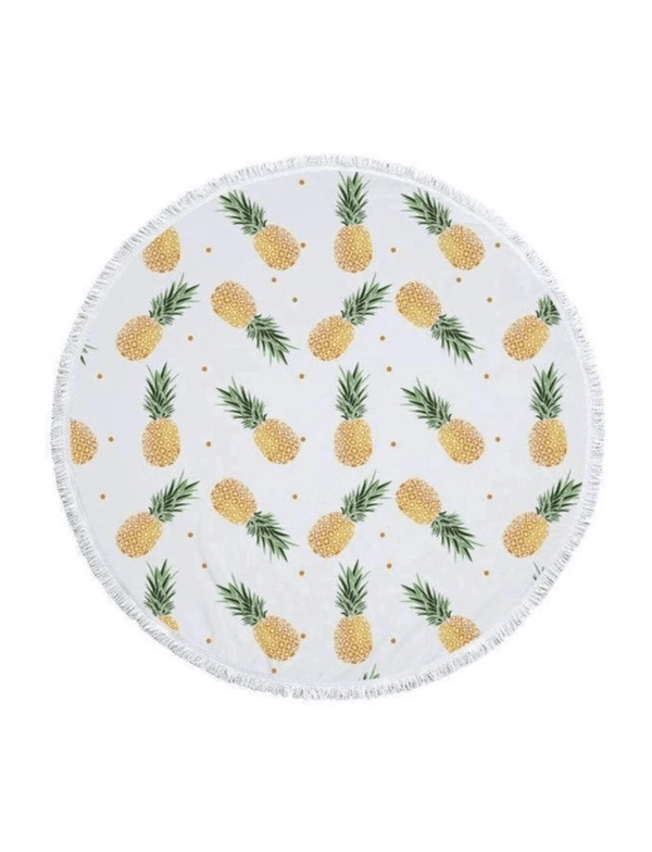 zaharaswim Pineapple Passion Round Towel