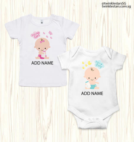 Baby Girl & Boy (6 Designs)