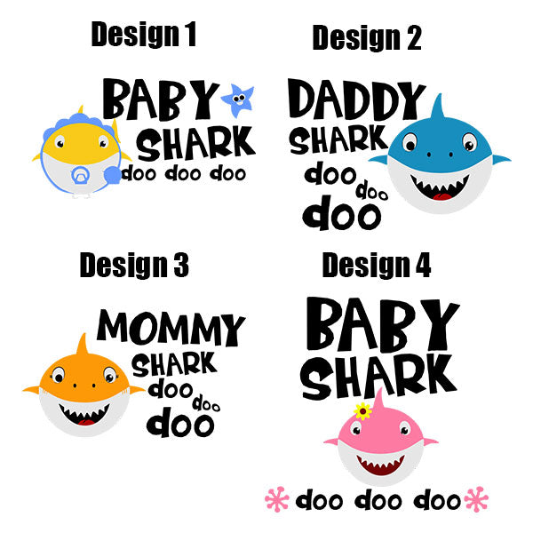 Shark Family Doo Doo