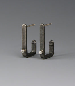 Rectangular Hoop Earrings