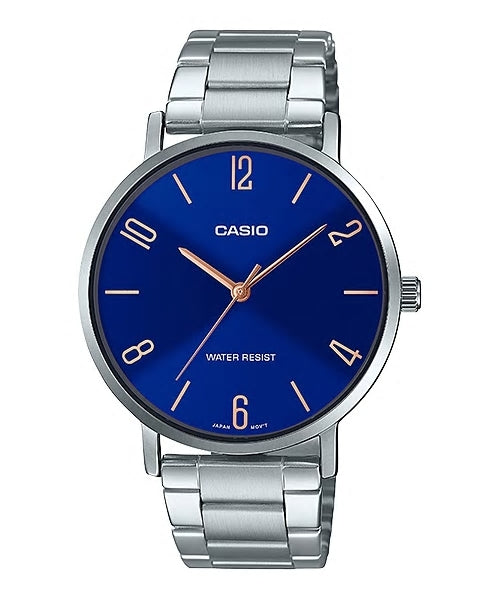 Gents Casio Watch MTPVT01D-2B2