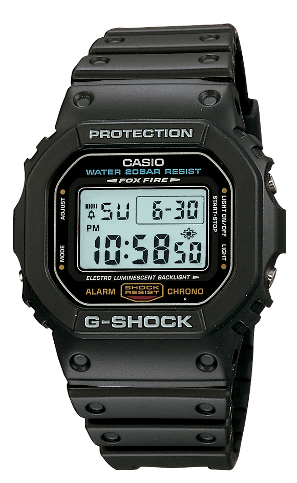 Gents Casio G-Shock Watch DW5600E-1
