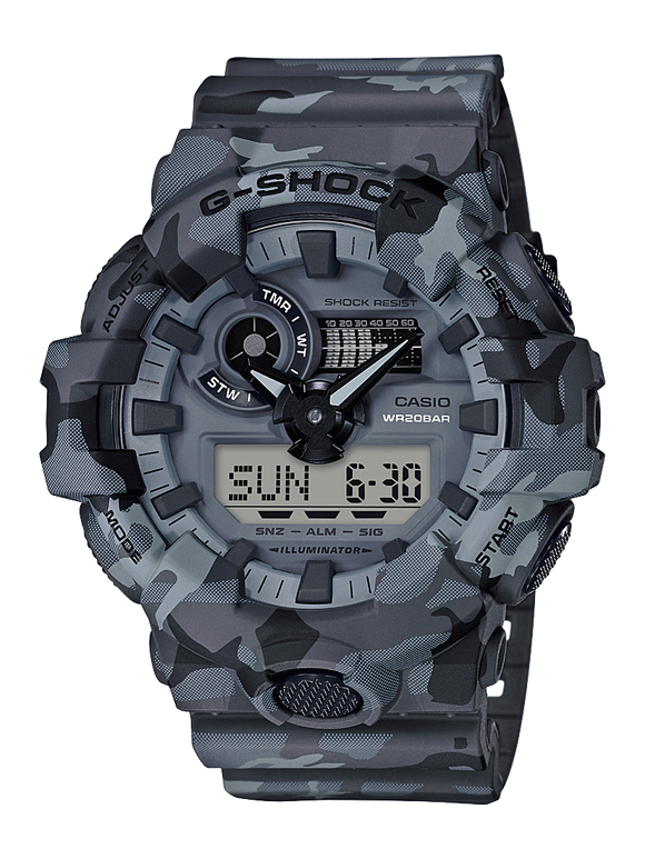 Gents Casio G-Shock Watch  GA700CM-8A