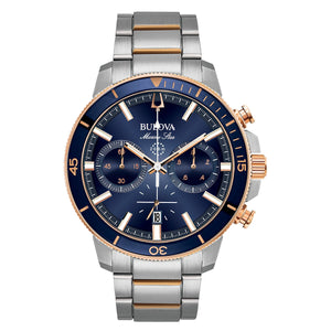 Gents Bulova Quartz Watch 98B301
