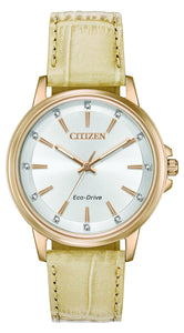 Ladies Citizen Eco-Drive Watch FE7033-08A
