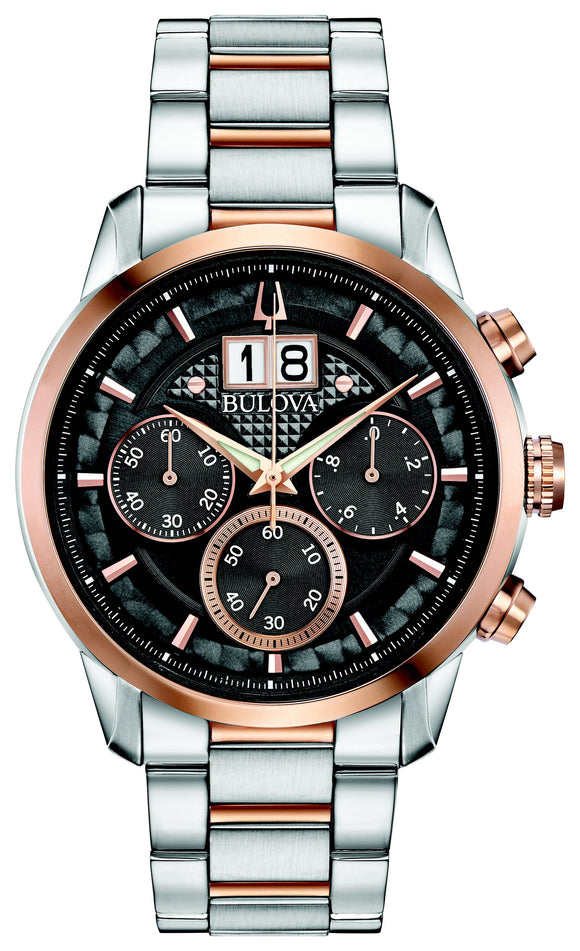Gents Bulova Quartz Watch 98B335