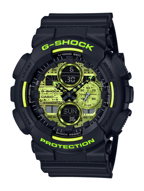 Gents Casio G-Shock Watch GA140DC-1A