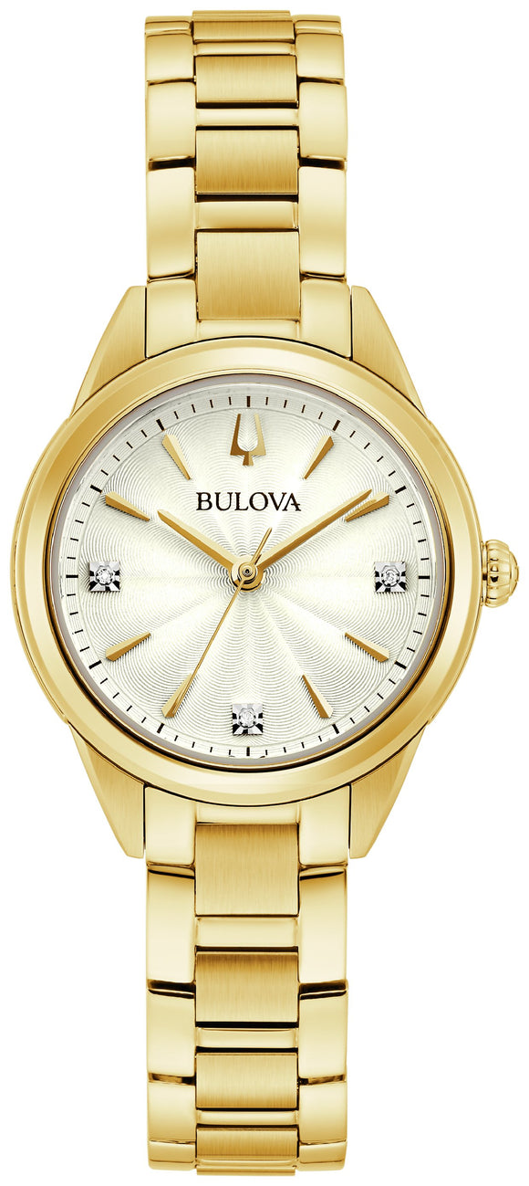 Ladies Bulova Quartz Watch 97P150