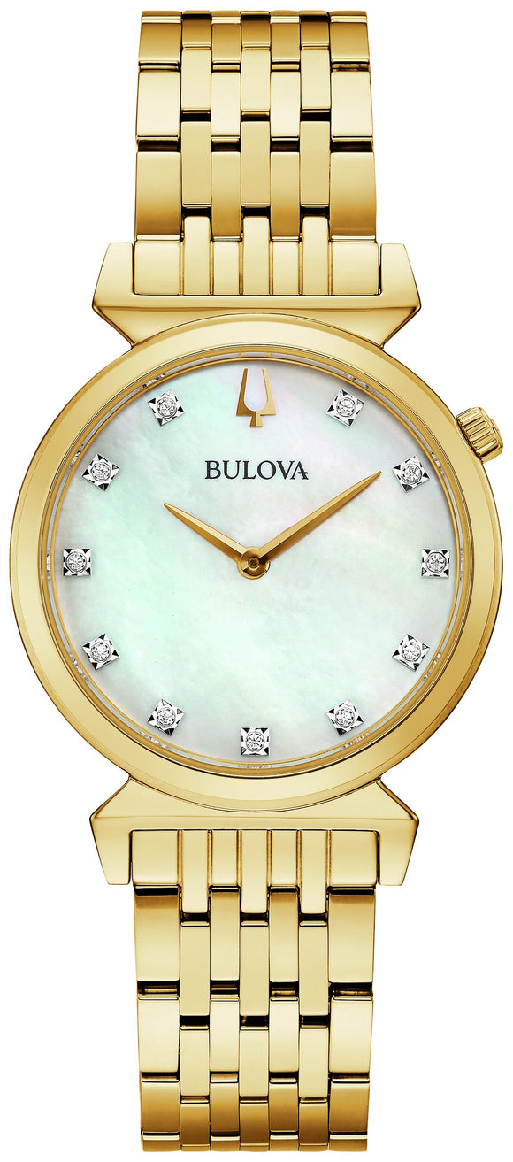 Ladies Bulova Quartz Watch 97P149
