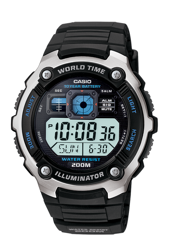 Gents Casio Watch AE2000W-1A