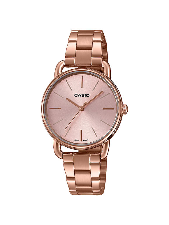 Ladies Casio Watch LTPE412PG-4A