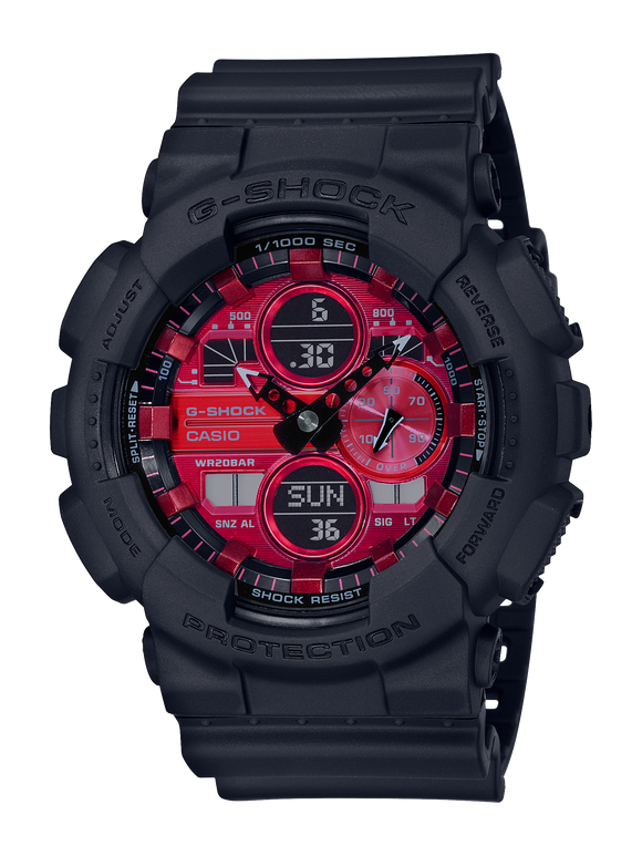 Gents Casio G-Shock Watch GA140AR-1A