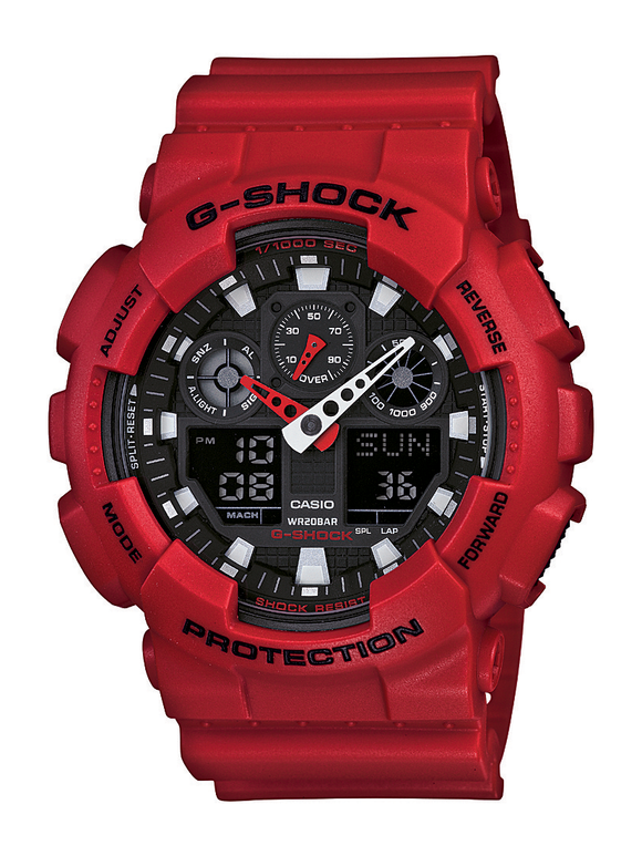 Gents Casio G-Shock Watch GA100B-4A