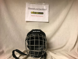Used Bauer Black Helmet