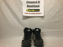 Used adidas Size 8.5 MLB Black-White Baseball Cleats