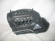 "New adidas Black-Gray Pro Series Size-Glove 11.5"" Throws Left Baseball Glove"