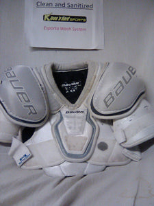 Used Bauer Nexus 600 Size Jr M Ice Hockey Shoulder Pads