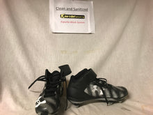 Used Under Armour Cam Newton 1 Football Black-Silver Size 8 Cleats