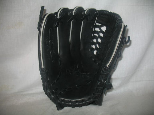 New adidas Black-Gray Pro Series Size-Glove 11.5