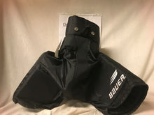 Used Bauer Supreme 3000 Size Jr M Black Ice Hockey Pants