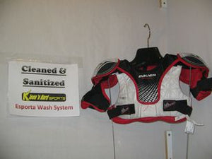 Used Bauer Vapor Size Yth L Men's Ice Hockey Shoulder Pads