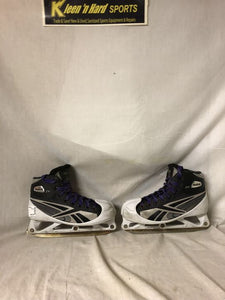 Reebok Used 2K Size 4 Ice Hockey Goalie Skates