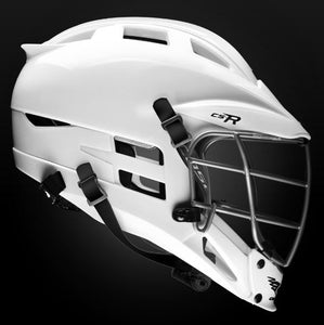 New Cascade CS-R Size OSFM White Lacrosse Beginner/Int Helmet