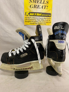 Used Bauer Supreme 3000 Size 1 D Ice Hockey Skates