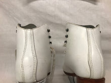 Used Riedell White Size 13 Figure Skating Figure Skates