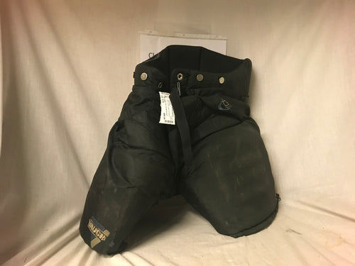 Used Vaughn V-Lite Pro Size Sr M Black Ice Hockey Goalie Pants