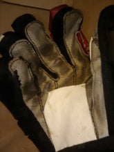 "Used Bauer X Size 11"" Red-Blk-Wht Ice Hockey Gloves"