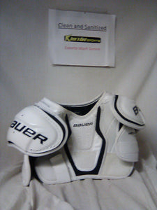 Used Bauer Nexus 400 Size Jr S Ice Hockey Shoulder Pads