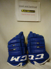 "Used CCM 4R PRO Size 14"" Royal Hockey Gloves"