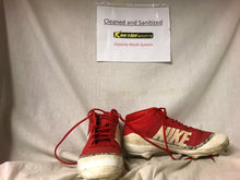 Used Nike Red Size 13 856 Baseball Cleats