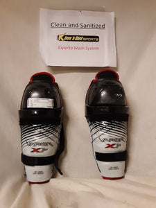 "Used Bauer Vapor x30 Size-Sport 10"" Ice Hockey Shin Guard"