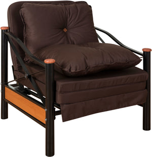 Sillon Cama Folk  Chocolate