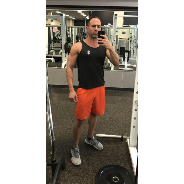Men's Charcoal Tank Top - The 4ge