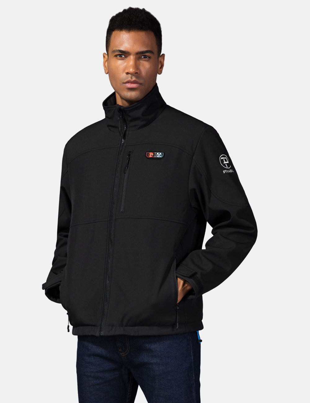 Mens 5 Zone Heated Jacket with Battery Kit