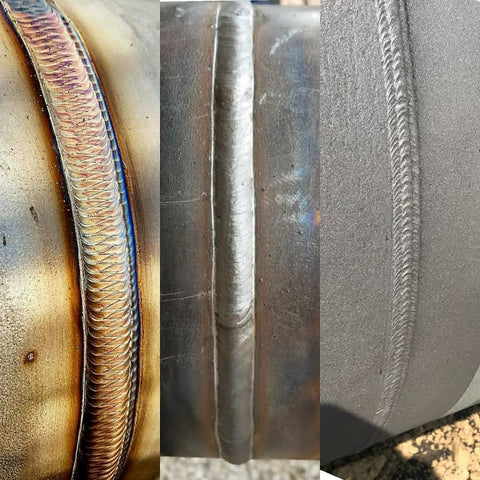 3 types of weld