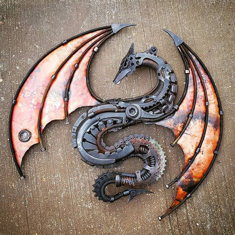 Double winged dragon