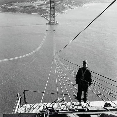 Welding UP the Golden Gate Bridge