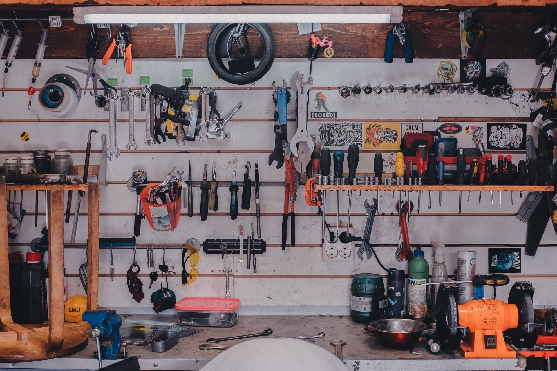Garage and shop safety requires more than just organization.