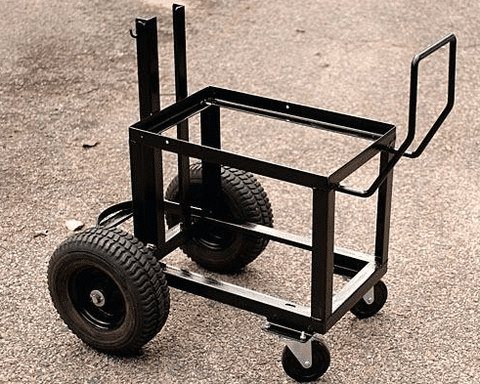 Welding cart for welding at home